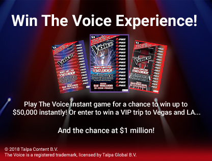 THE VOICE™  Second Chance Promotion