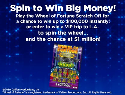 Wheel of Fortune® Second Chance Promotion